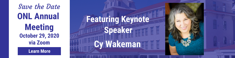 ONL Annual Meeting with Cy Wakeman on Oct 29, 2020